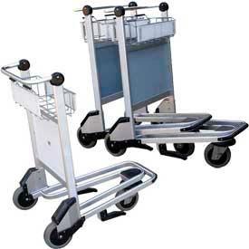 Vestil Nestable Multi-Use Platform Shopping Cart with Brakes