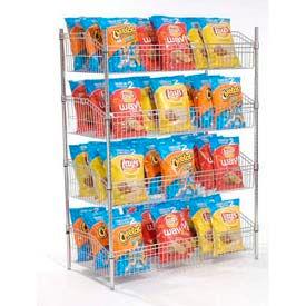 Nexel® Wire Shelf Baskets - Chrome