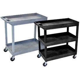 Luxor® Industrial Plastic Carts
