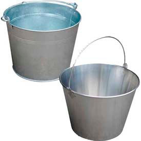 Galvanized & Stainless Steel Buckets