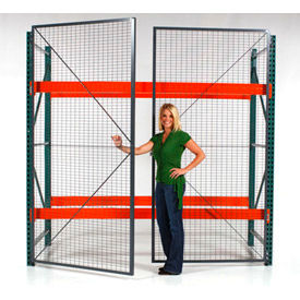 Wirecrafters - RackBack® Wire Mesh Pallet Rack Enclosures