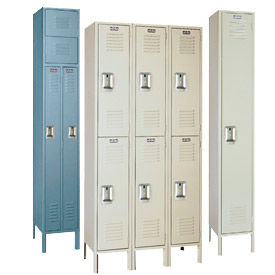 Lyon Ready To Assemble Steel Locker With Recessed Handle