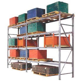Global Approved Structural Pallet Rack Upright Frames