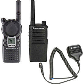 Motorola Professional Two Way Radios