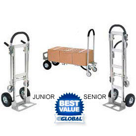 Aluminum 2-in-1 Convertible Hand Trucks
