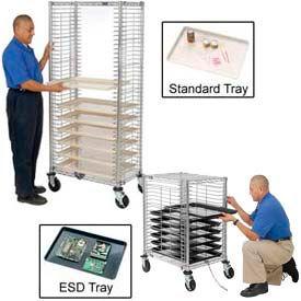 Nexel® Chrome Wire Tray Carts & Trucks