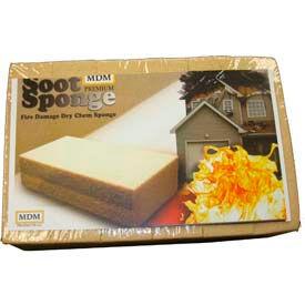 Fire Damage Dry Chem Soot Sponge