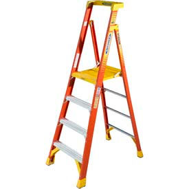 Werner® Fiberglass Podium Ladders