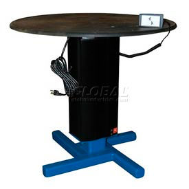 Turntable with Powered Height Adjustment