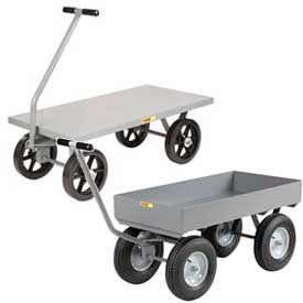 Little Giant® Steel Deck Wagons