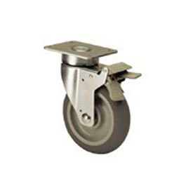 Global Industrial™ Hi Tech Dual Locking Caster 400 LB. Capacity