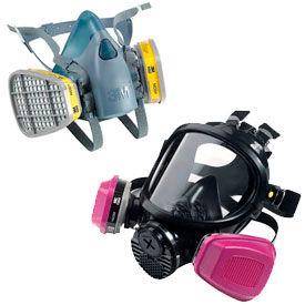 3M™ Half Mask & Full Face Respirators