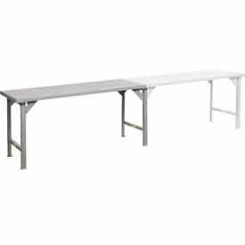 Continuous Width 12 Gauge Steel Top Production Tables