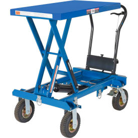 Pneumatic Tire Hydraulic Elevating Carts