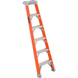 Louisville Fiberglass Pro Shelf Ladders