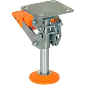 Vestil Floor Locks with Thermoplastic Polyurethane Foot Pad