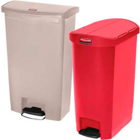 Rubbermaid® Slim Jim® Plastic Step On Containers