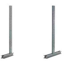 Global Approved (3000 Series) Uprights - Single & Double Sided - 44400 Lb Max. Capacity