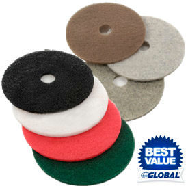 Global Industrial™ Low & High Speed Floor Pads