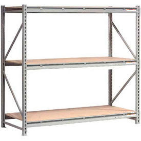 Global - Extra High Capacity Metal Bulk Storage Rack With Wood Deck