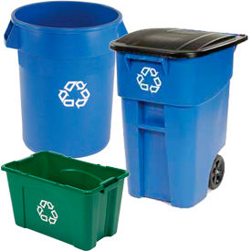 Rubbermaid® Recycling Containers
