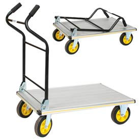 Ergo Handle Folding Aluminum Platform Trucks
