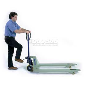 Wesco® Foot-Pump Operated Pallet Jack Truck