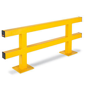 All-Welded Protective Railing System