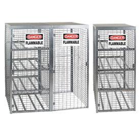 Gas Cylinder Storage Cabinets - Galvanized
