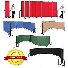 Screenflex® - Commercial Fabric Upholstered Mobile Room Dividers