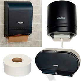 Global Industrial™ Tissue And Paper Towel Dispenser Starter Kits