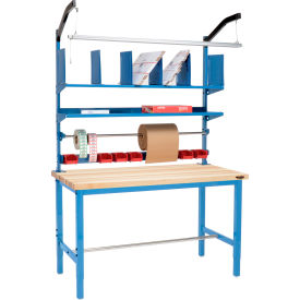 Pre-Configured Packaging Workbench with Riser