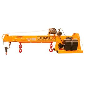 Caldwell Powered Forklift Jib Boom Crane