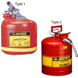 Justrite® Safety Cans