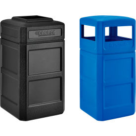 Global Industrial™ Square Plastic Waste Receptacles