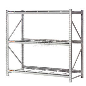 Global - Made in USA - Extra High Capacity Metal Bulk Storage Rack Without Decking