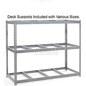 7'H Boltless Wide Span Metal Storage Rack Without Decking - Made in USA