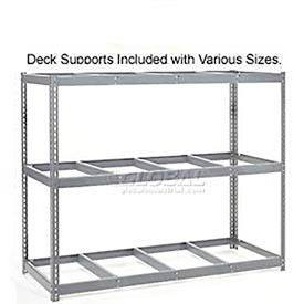 Made in USA - 5'H Boltless Wide Span Metal Storage Rack Without Decking