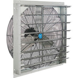 Exhaust Fans With Guard Mounts Or Shutters Global Industrial