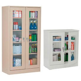 All-Welded Clear View Storage Cabinets