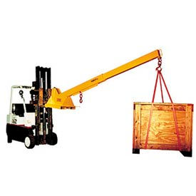 Caldwell Heavy Duty Adjustable Forklift Jib Boom Cranes