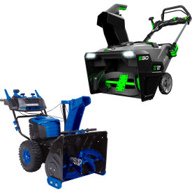 Cordless & Corded Electric Snow Blowers