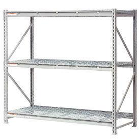 Global - Extra High Capacity Metal Bulk Storage Rack With Wire Deck