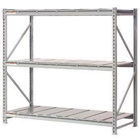 Global - Extra High Capacity Metal Bulk Storage Rack With Steel Deck