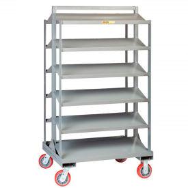 All Welded Steel Sloped Shelf Trucks & Racks