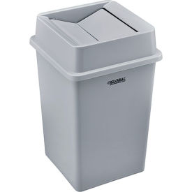 Global Industrial™ Square Plastic Trash Containers