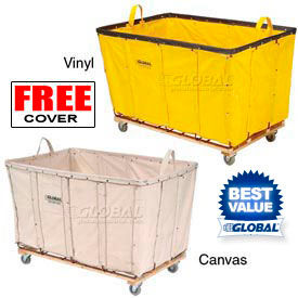 Global Industrial™ Canvas & Vinyl Bulk Basket Trucks