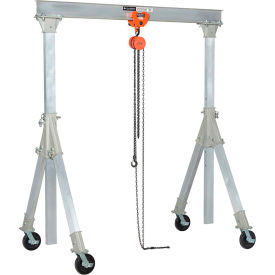 Adjustable Height Aluminum Gantry Cranes