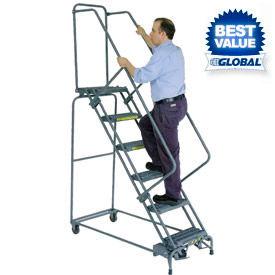Industrial Steel Rolling Ladders