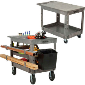 Plastic Tray Shelf Service & Utility Carts